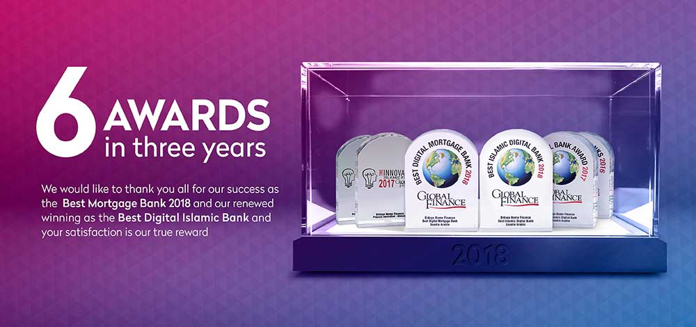 6 Awards in 3 Years