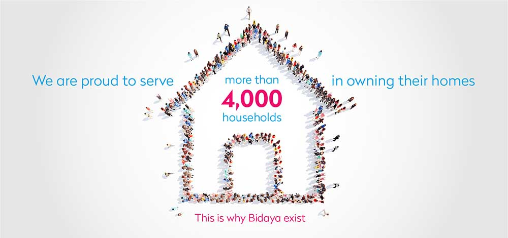 We are proud to server 3915 households